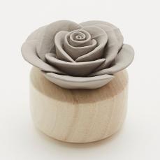 Fleur à parfumer GARDENIA gris