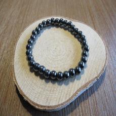Bracelet en hématite 6mm