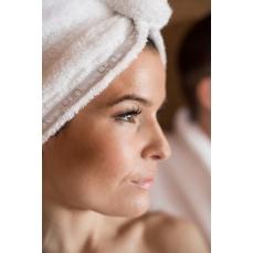 LUINSPA - Serviette pour cheveux SNOW-SAND