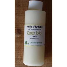 huile végétale de coco bio Run'essence
