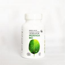 Boîte 120 gélules Moringa BIO certifiée Ecocert  pure et traçable, gélules veg 400 mg
