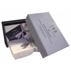 SnB for Men - Coffret 2 taies en soie 50 x 75cm