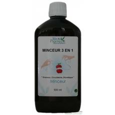 Extrait liquide - minceur 3 en 1 - bouteille 500ml