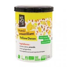 Muesli croustillant Yellow Detox (granola) - 350 g - sans gluten
