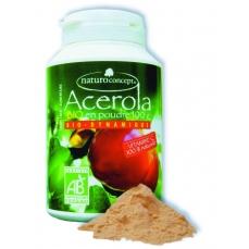 Acérola bio - poudre - 100g - 17% de vitamine c