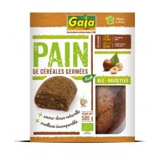 Pain de céréales germées Blé/noisettes 500g