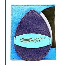 Gant d'exfoliation et d'épilation Bleu céleste/Electrique