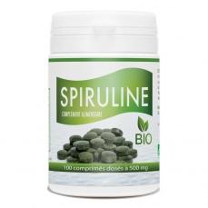Spiruline Bio 500mg – 100 comprimés
