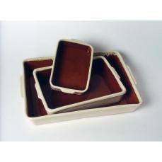 Grand plat rectangle