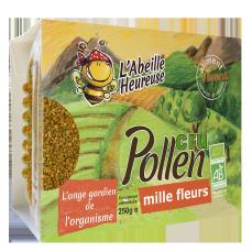 Pollen cru Mille Fleurs Bio 250g