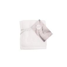 LUIN LIVING - Serviette spa 25×25 cm 1 pièce SNOW