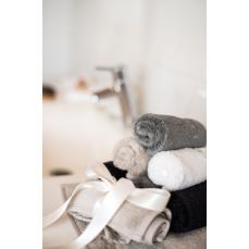 LUIN LIVING - Serviette spa 25×25 cm (1 pièce) SAND