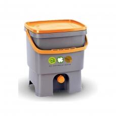 Composteur de cuisine Bokashi - Fourni avec une recharge de 1 kg