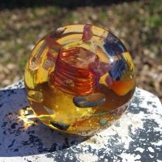 AuraSpirit sphère cornaline