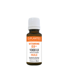 Vitamine D3++ Huile 1000 UI