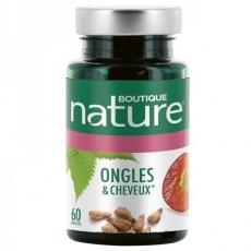 Complexe ongles et cheveux - 60 capsules - Boutique Nature