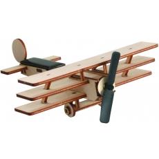 Maquette Triplan solaire en bois