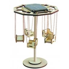 Maquette Carrousel solaire en bois (grand modèle)