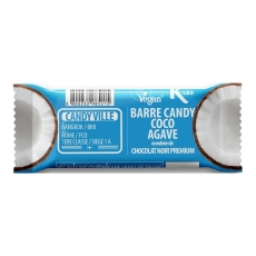 Barre Candy Coco Agave 50g Bio - Candy Ville