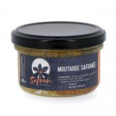 Moutarde au Safran bio, 100 g
