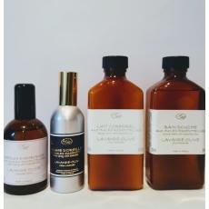 Coffret  soin corps & parfum maison Lavande - olive - Savonnerie de Bormes