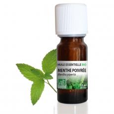 Menthe poivrée BIO - Huile essentielle 10 ml
