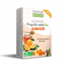 Gommes Propolis Miel Orange