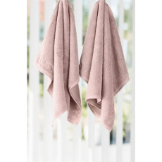 LUIN LIVING - 2 pièces Serviette main 50×80 cm DUSTY ROSE