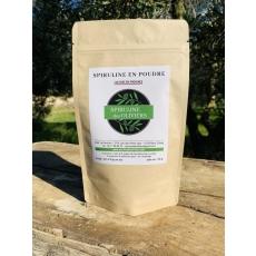 Spiruline des oliviers en poudre, cultivée en Provence, 100gr