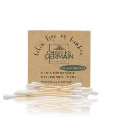 Coton tiges en bambou biodégradable - Boite de 100