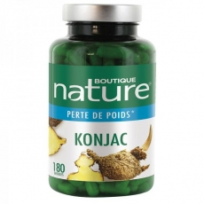 Konjac - 180 gélules - Boutique Nature