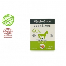 Savon au lait d'ânesse 40 % Calendula Bio 100g