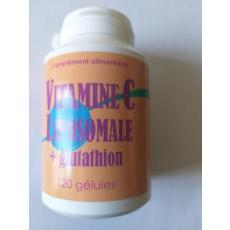 Vitamine   C liposomale + Glutathion  3 mois 120 gélules 2 mois