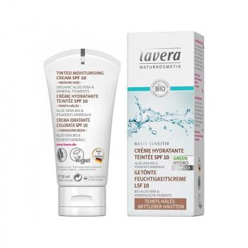 Creme hydratante teintée Bio Lavera