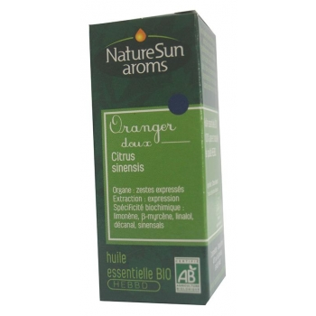 ORANGER DOUX - Citrus sinensis -10 ml-