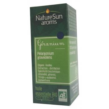 GERANIUM, Pelargonium graveolens  -10 ml -