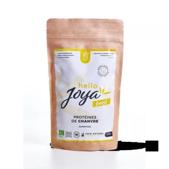 Protéines de chanvre Bio 400g Hello Joya