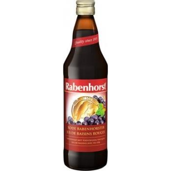 Jus de raisin rouge avec fer 75cl - RABENHORST