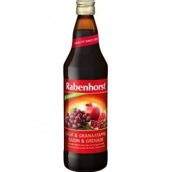 Jus de raisins et grenade 75cl - RABENHORST