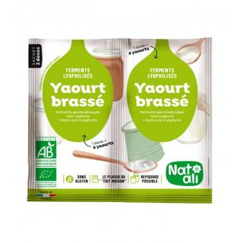 Ferments pour Yaourt Brassé Bio - 2 X 6 G