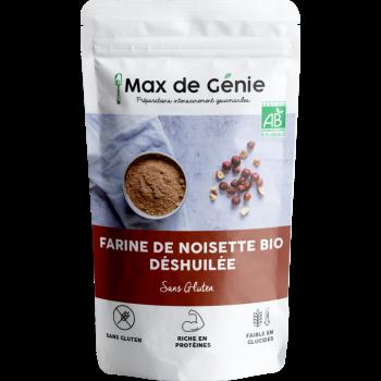 Farine de Noisette Bio Déshuilée - 250 g