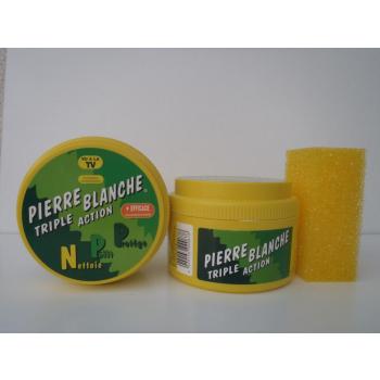 Pierre blanche triple action
