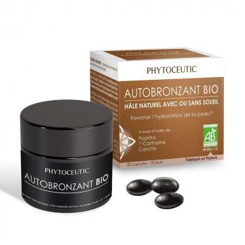 Autobronzant hydratant Bio - 30 gélules - Phytoceutic