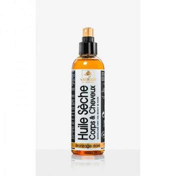 Huile sèche corps et cheveux Bronzage Doré Bio - 200 ml