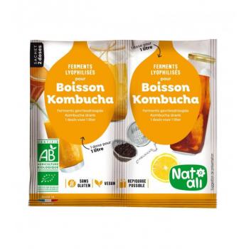 Ferment Bio pour boisson Kombucha - 2 X 5 g