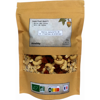 Superfood Muesli - Baies des Incas & Noix de Cajou