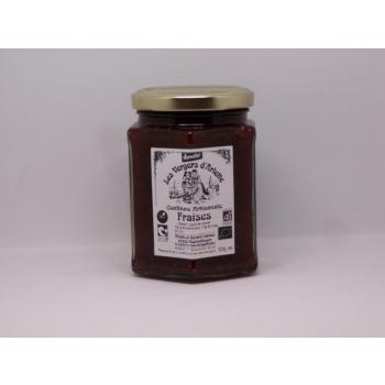 Confiture de fraises 320grs