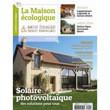 La Maison écologique n° 104- solaire photovoltaique