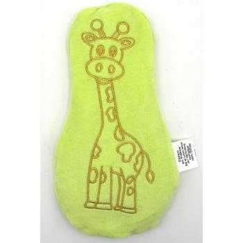 Doudou bouillotte - Girafe Vert Pomme