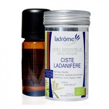 LADRÔME - Huile essentielle de Ciste ladanifère bio 10ml